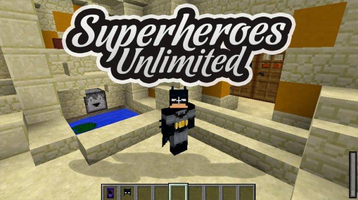 Superheroes Unlimited Mod 1.16.2