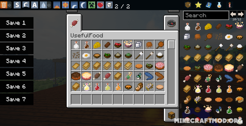 Usefulfood Mod 1.16 and 1.15.2