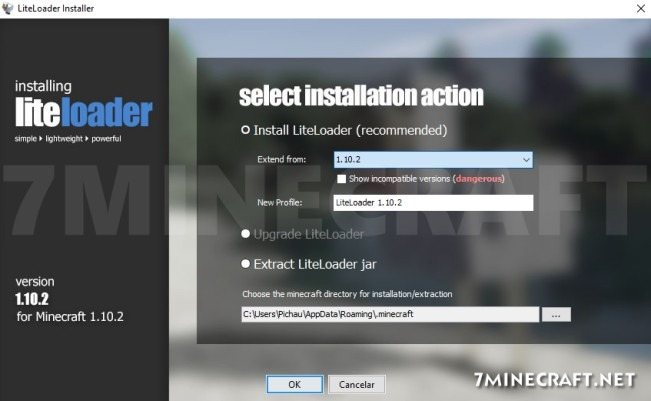 Liteloader Mod 1.16/1.15.2