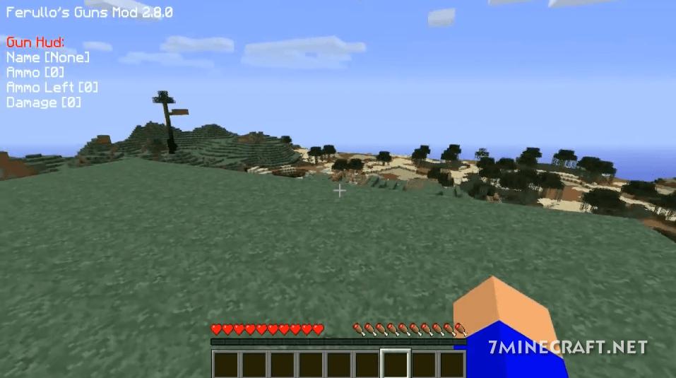 Ferullo's Guns Mod for Minecraft 1.16/1.15.2