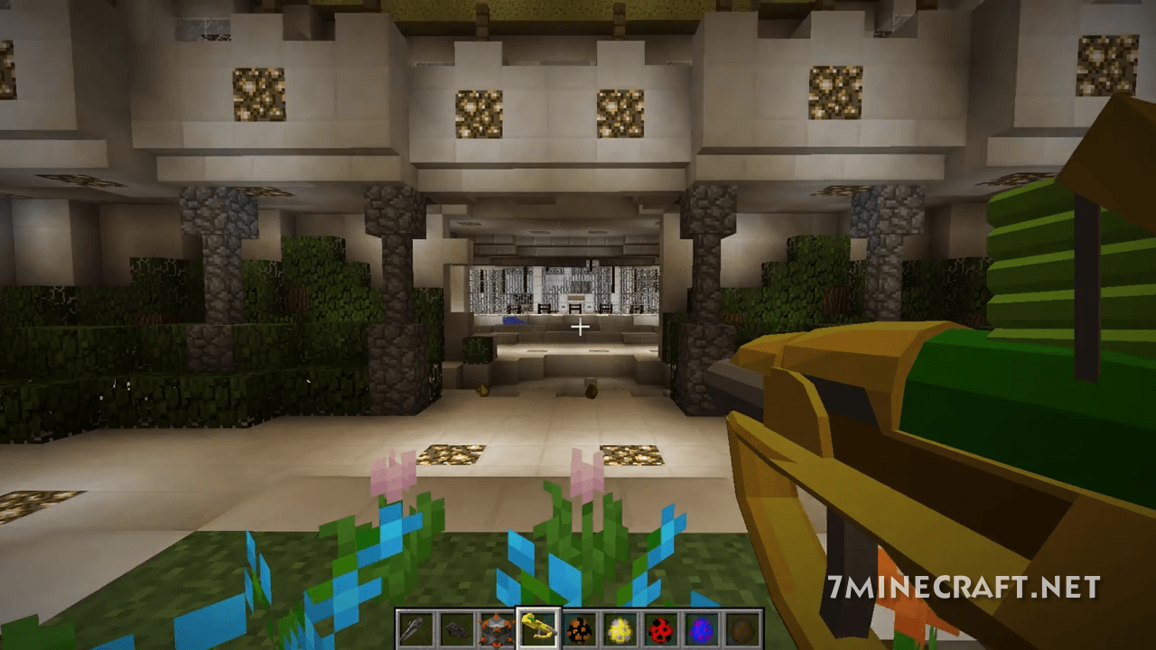 HaloCraft Mod 2.0 for Minecraft 1.16/1.15.2