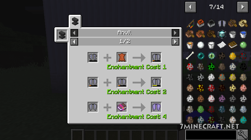 Just Enough Items Mod 1.16/1.15.2