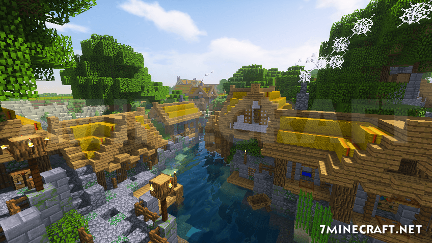 KUDA Shaders Mod minecraft