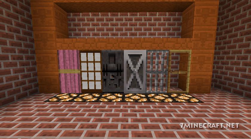 Malisis Doors Mod 1.16/1.15.2