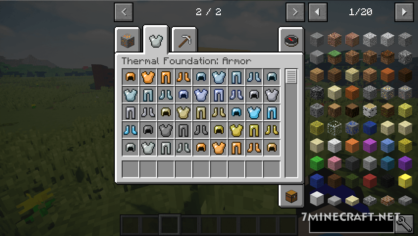 Thermal Foundation Mod 1.16 and 1.15.2