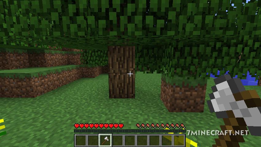Treecapitator Mod 1.16/1.15.2