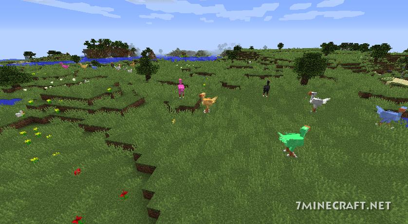 ChocoCraft Mod 1.16/1.15.2
